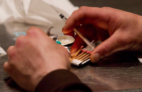 heroin addiction insite vancouver safe injection