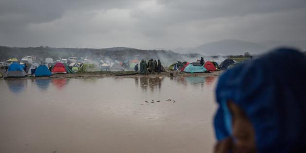 Idomeni:  Drei Flüchtlinge ertrinken bei Versuch nach Mazedonien zu gelangen