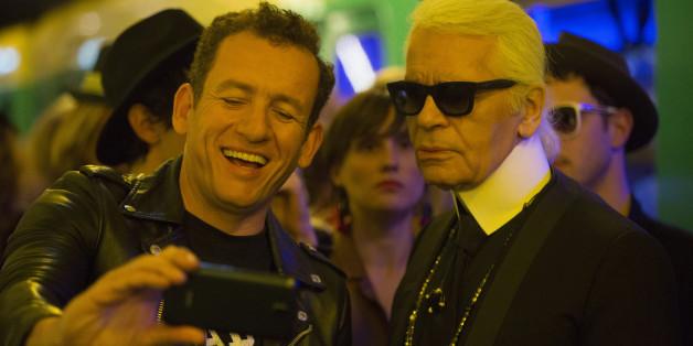 Jean-René trifft auf Karl Lagerfeld und blamiert seine Liebe
