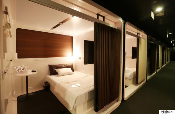 capsule hotel haneda