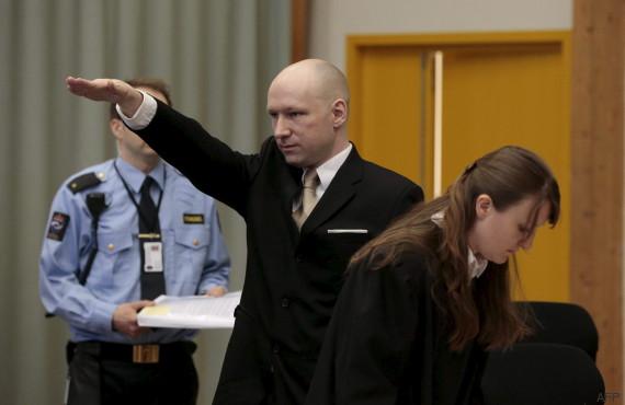 anders breivik salut nazi