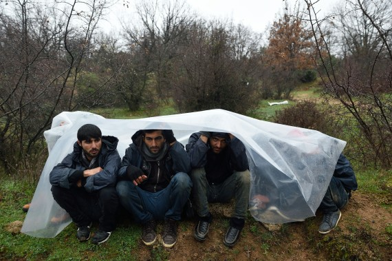 macedonia refugees