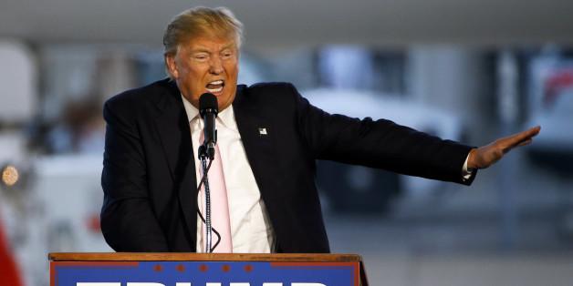 Der republikanische Kandidat Donald Trump