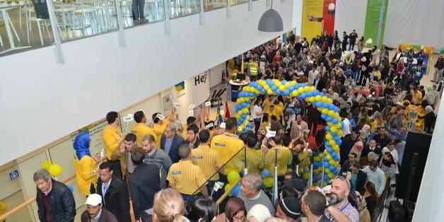 L'inauguration d'Ikea Maroc comme si vous étiez