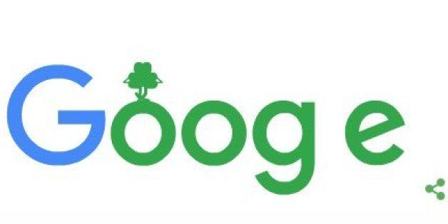 St. Patricks Day auf Google mit eigenem Doodle