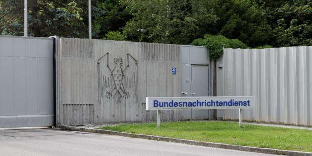 Entrée du siège du BND