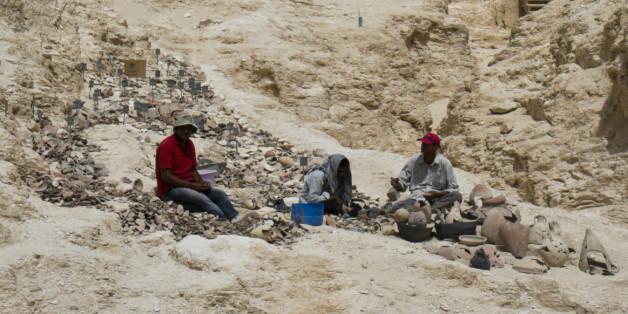 Eine Ausgrabung im Tal der Könige (Symbolbild)