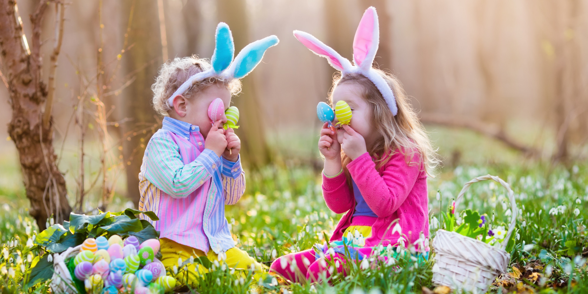 I Regret Telling My Child the Truth About the Easter Bunny | HuffPost for Real Easter Bunny With Eggs  303mzq