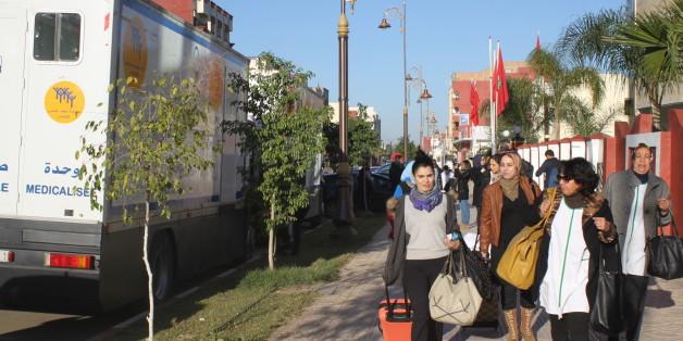Nous avons suivi la caravane médicale de la Fondation Mohammed V