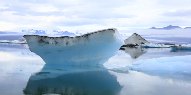 The Jokulsarlon lake