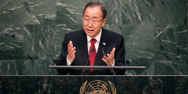 UN-Generalsekretär Ban-Ki Moon