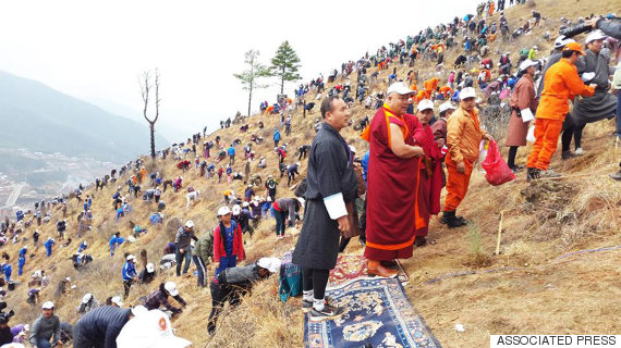 bhutan planting