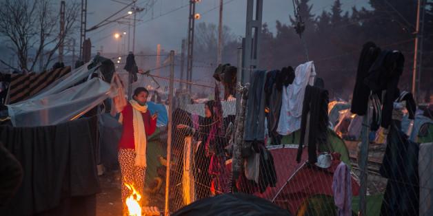 Im provisorischen Flüchtlingslager Idomeni herrschen katastrophale Zustände