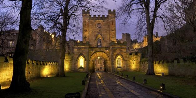 Gatehouse, Durham Castle, University College, Durham, England, United Kingdom, Europe
