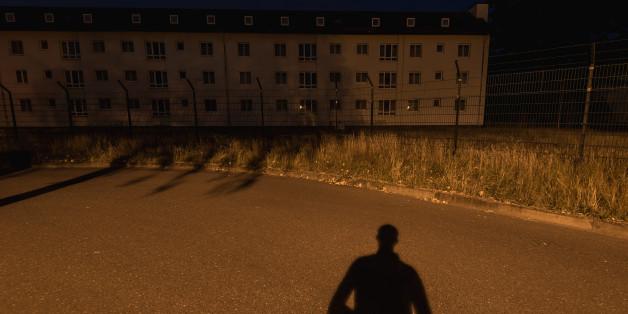 Flüchtlingslager in Hessen.