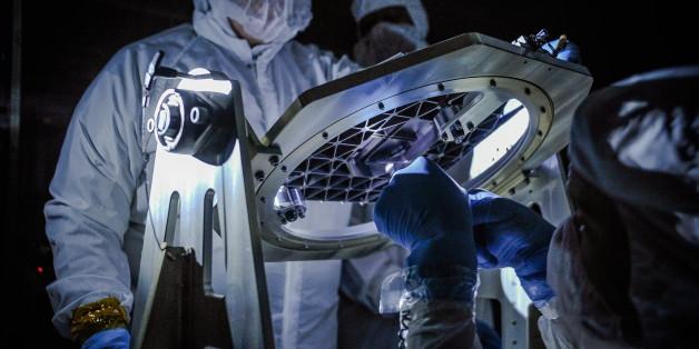 Nasa-Forscher blickten durch das Teleskop. Was sie sahen, verschlug ihnen den Atem