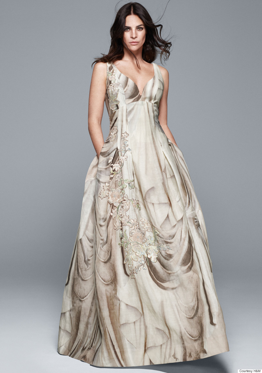 h m s new conscious exclusive collection includes wedding dresses