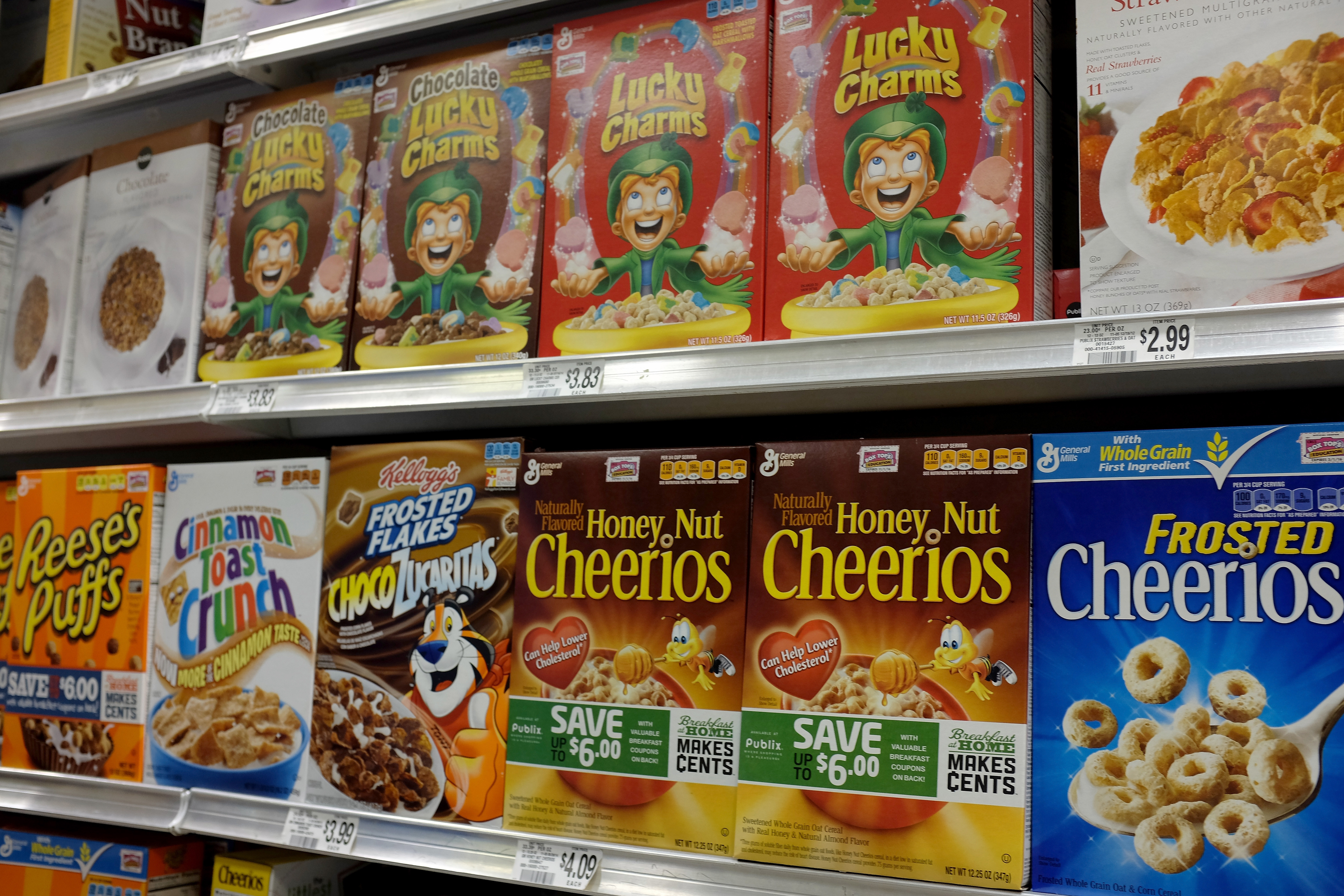 general mills products