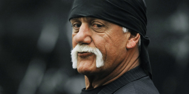Hulk Hogan, whose given name is Terry Bollea, waits in the courtroom during a break Wednesday, March 9. 2016, in his trial against Gawker Media in St. Petersburg, Fla. Hogan and his attorneys are suing Gawker for $100 million, saying his privacy was violated, and he suffered emotional distress after Gawker posted a sex tape of Hogan and his then-best friend's wife.  (AP Photo/Steve Nesius, Pool) MANDATORY NY POST OUT