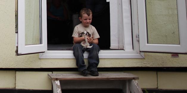 Ein Junge wollte sich einen Welpen kaufen und rührt uns zu Tränen