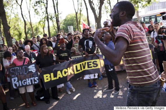 black lives matter toronto police