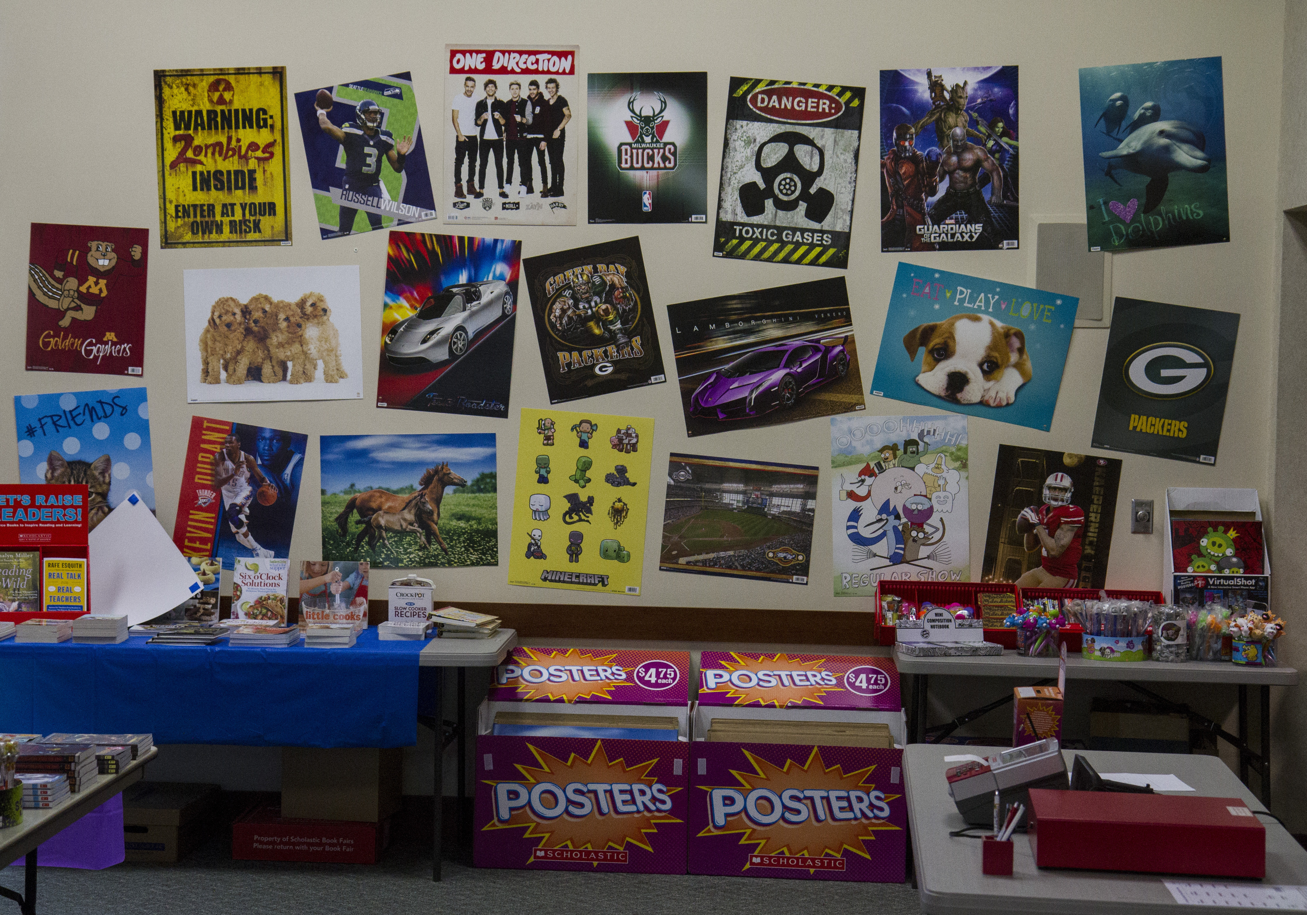 posters room