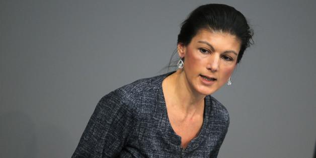 Linke-Fraktionschefin Sahra Wagenknecht wirbt um AfD-Wähler