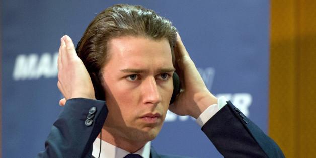 Österreichs Außenminister Sebastian Kurz bei einer Pressekonferenz in Wien (Archivbild)