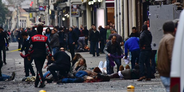 Bei dem Anschlag starben fünf Menschen.