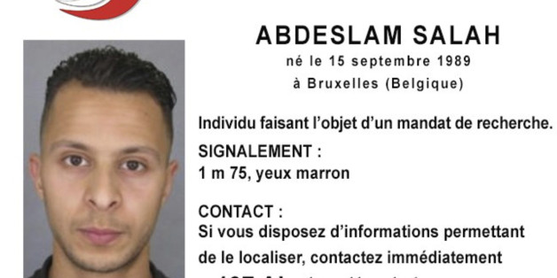 This undated file photo released Friday, Nov. 13, 2015, by French Police shows 26-year old Salah Abdeslam, who is wanted by police in connection with recent terror attacks in Paris, as police investigations continue. Belgian prosecutors said Friday March 18, 2016 that  fingerprints of Paris attacks fugitive Salah Abdeslam found in Brussels apartment that was raided earlier this week. (Police Nationale via AP)