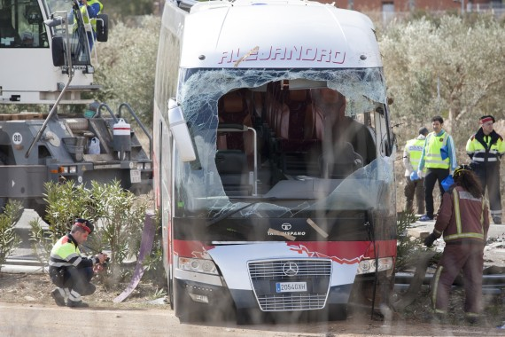 spain bus crash