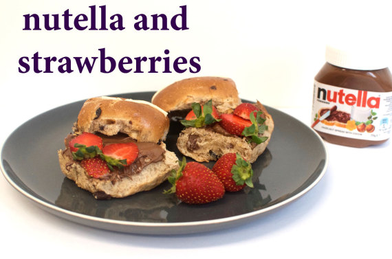 nutella strawberries