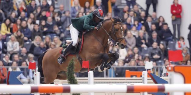 Une nouvelle victoire pour le cavalier Abdelkebir Ouaddar à Paris