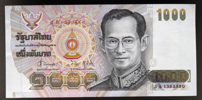 king bhumibol adulyadej money