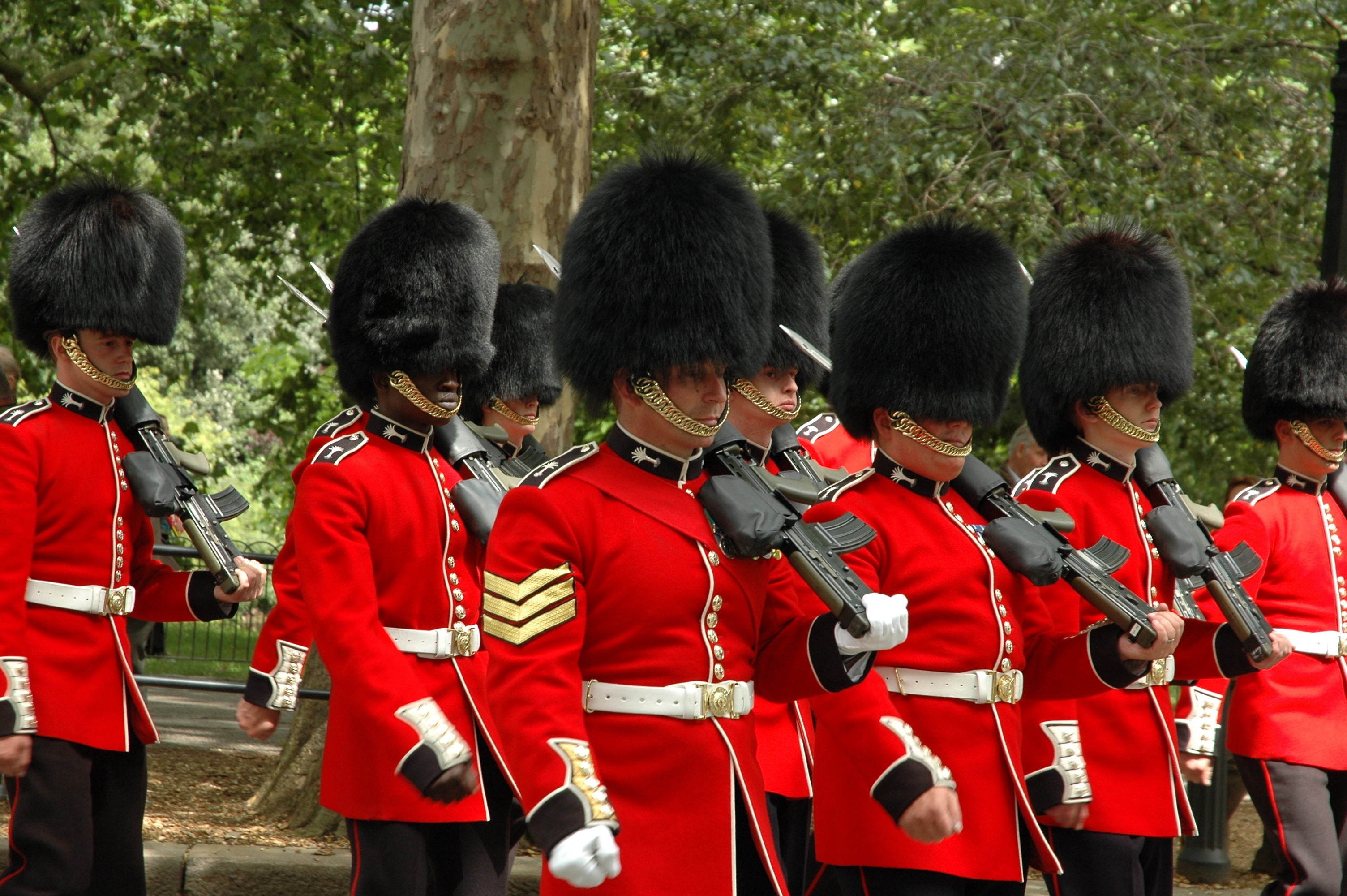 queens guards
