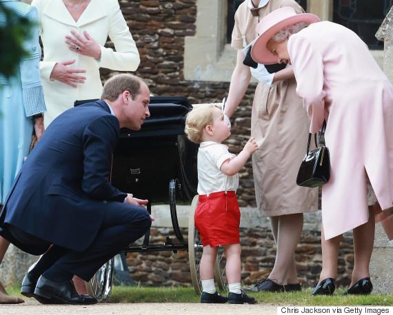 prince george queen elizabeth