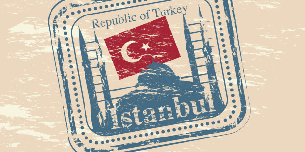Vector Turkey Stamps