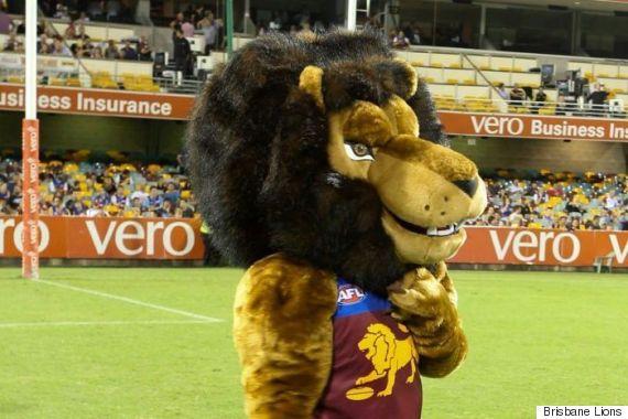 brisbane lions mascot