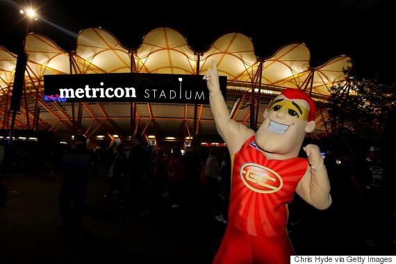 gold coast suns mascot