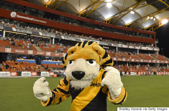 richmond tigers mascot