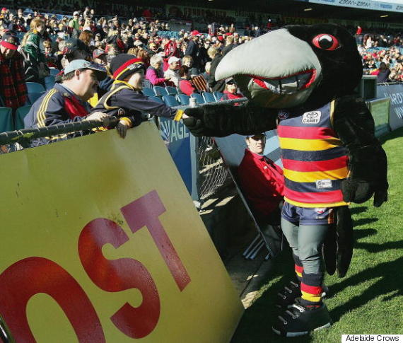 adelaide crows mascot