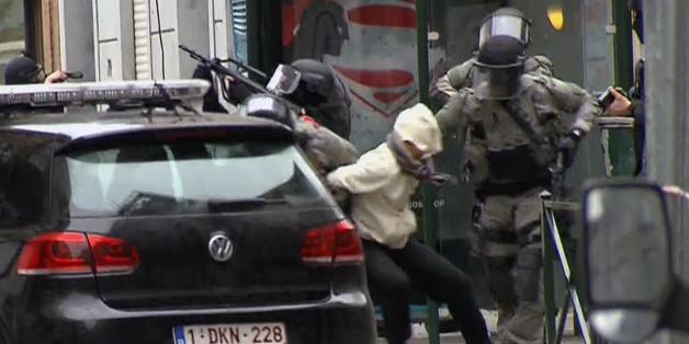 Die Festnahme des mutmaßlichen Terroristen Salah Abdeslam