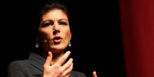 Die Fraktionsvorsitzende der Linken Sahra Wagenknecht