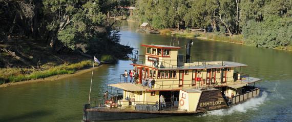 murray river paddleboat steamer