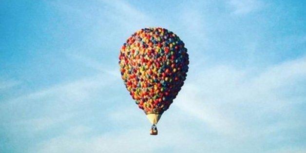"""La montgolfière du dessin animé """"Là-haut"""" en balade en Australie (PHOTOS)"""