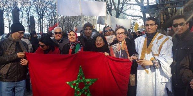 Les Marocains de New York manifestent contre les propos de Ban Ki-moon