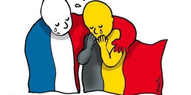 Plantu, Sfar... Les dessins en hommage à l'actualité des attentats à Bruxelles