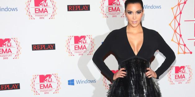 So sah Kim Kardashian im Jahr 2012 aus...