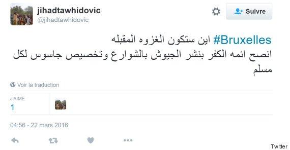 tweet propagande daech