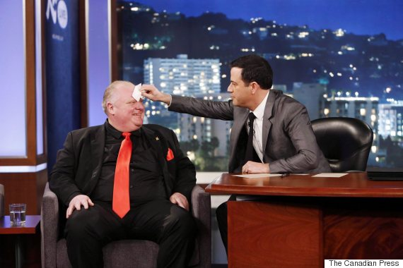 rob ford jimmy kimmel